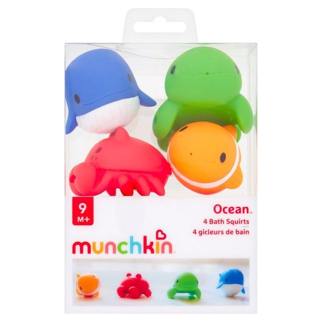 Morrisons Munchkin Ocean Bath Toy 4 Per Pack Product