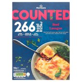Morrisons Counted Beef Lasagne