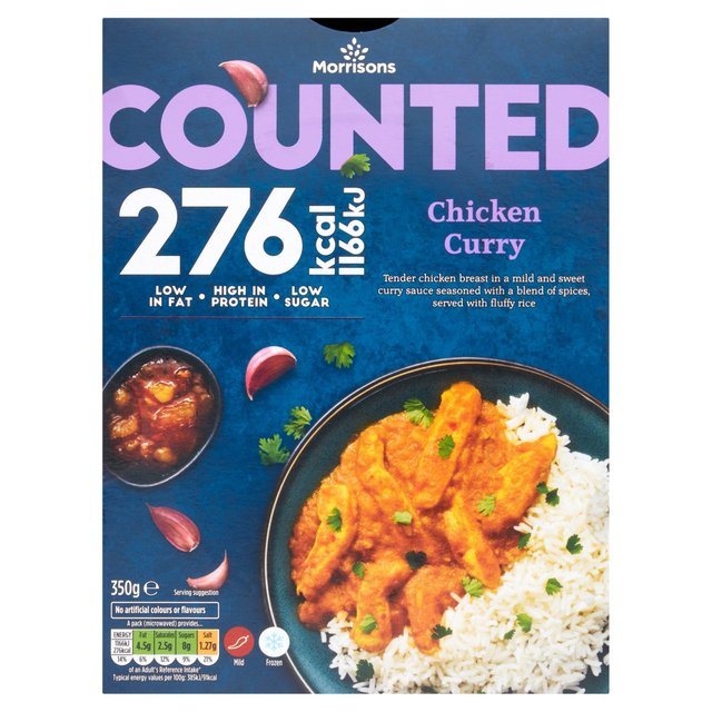 Morrisons Counted Chicken Curry