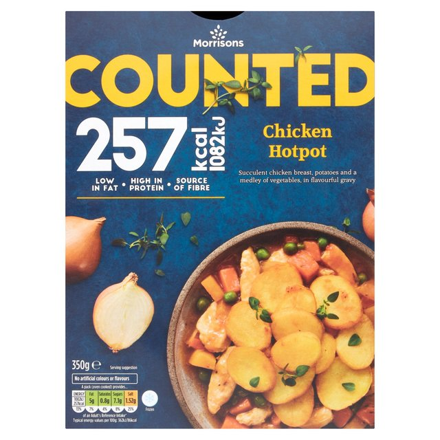 morrisons morrisons eat smart chicken hotpot 350g product information. Black Bedroom Furniture Sets. Home Design Ideas