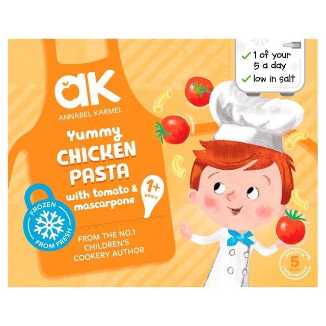 Annabel Karmel Chicken,Tomato & Mascarpone Pasta