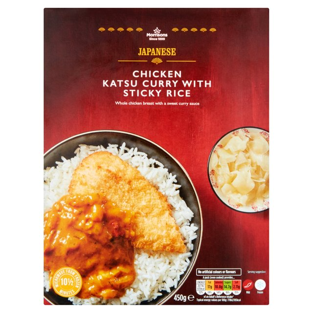 Morrisons Morrisons Chicken Katsu Curry Sticky Rice
