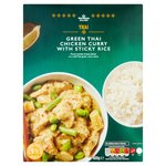 Morrisons Thai Green Chicken Curry & Rice