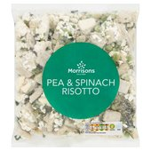 Morrisons Pea & Spinach Risotto