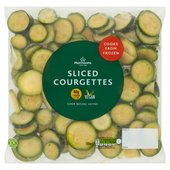 Morrisons Sliced Courgettes