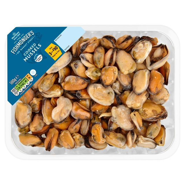 Morrisons: Morrisons Frozen Cooked Mussel Meat 500g ...