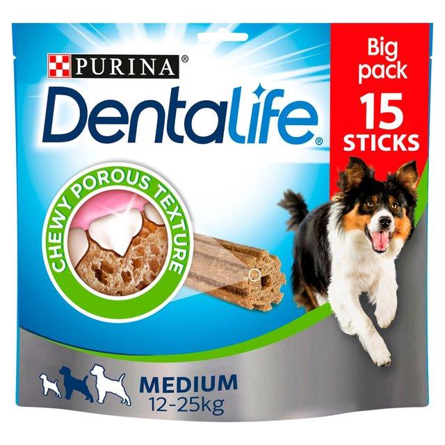 Dentalife Chews Loyalty Pack For Medium Dogs Morrisons