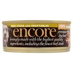 Encore Premium Dog Beef Steak With Vegetables