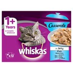 Whiskas Casserole 1+ Years Fish Selection