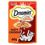 Dreamies Extra Crunchy With Chicken
