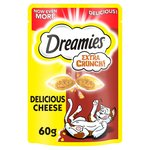 Dreamies Extra Crunchy With Cheese