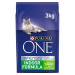 Purina One Indoor Formula Rich In Turkey