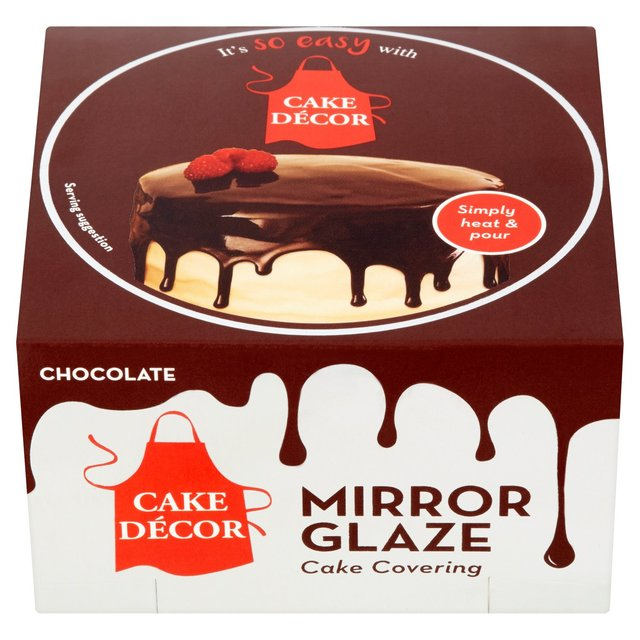 Cake Decor Chocolate Mirror Glaze