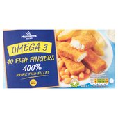 Morrisons 10 Omega 3 Fish Fingers