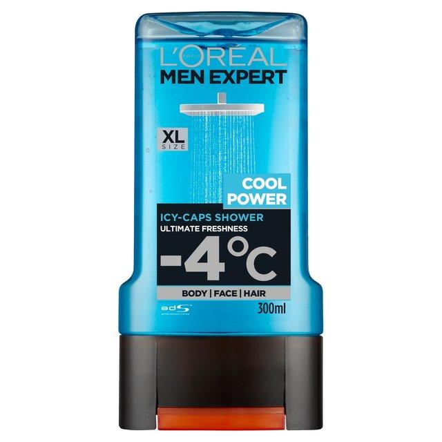 Morrisons: L'Oreal Men Expert Cool Power Shower Gel 300ml(Product ...