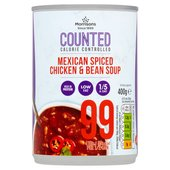 Morrisons Counted Mexican Chicken And Bean Soup
