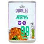 Morrisons Counted Chickpea And Spinach Soup