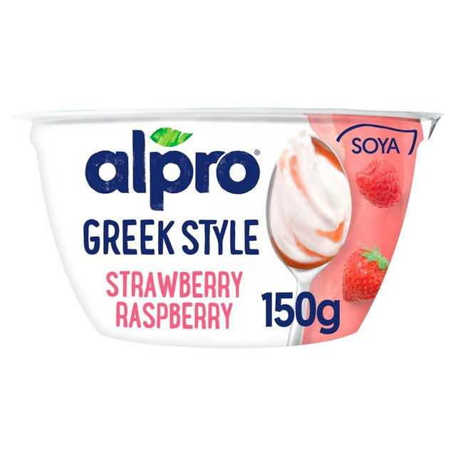 Alpro Go On Strawberry And Raspberry Soya