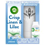 Airwick Freshmatic Linen Complete Kit Linen in the Air