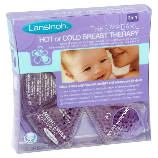Lansinoh 3 In 1 Therapearl Hot or Cold Breast Therapy