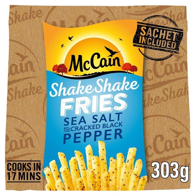 McCain Shake Shake Sea Salt & Cracked Black Pepper Fries