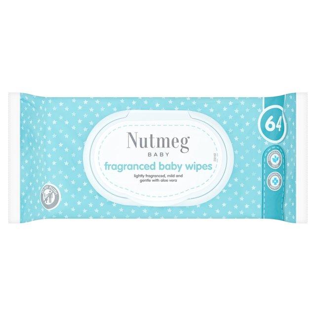 Nutmeg Fragranced Baby Wipes