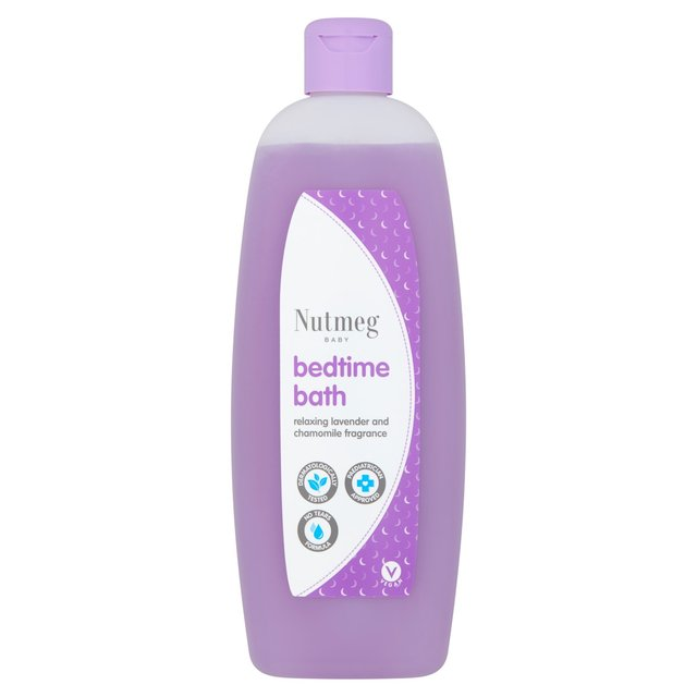 Morrisons Nutmeg Baby Bedtime Bath 500ml Product Information
