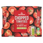Morrisons Chopped Tomatoes