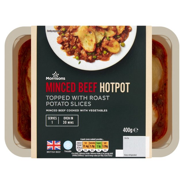 Morrisons Traditional Mincebeef Hotpot