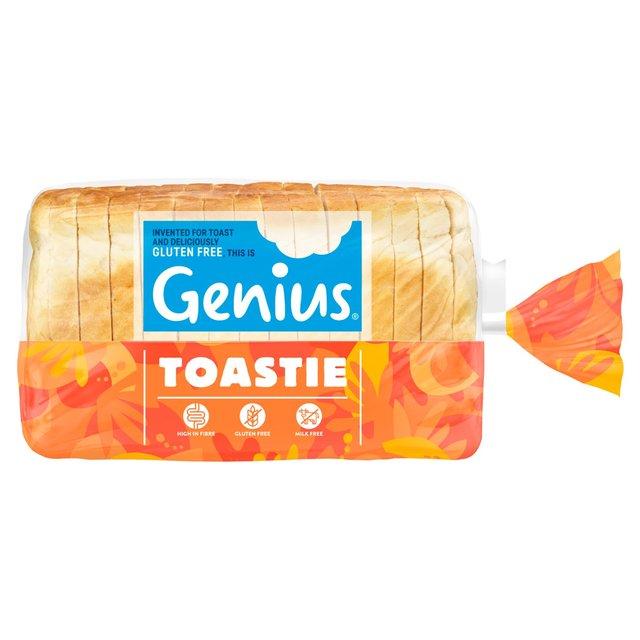 Genius Gluten Free Toastie Square Cut White Loaf