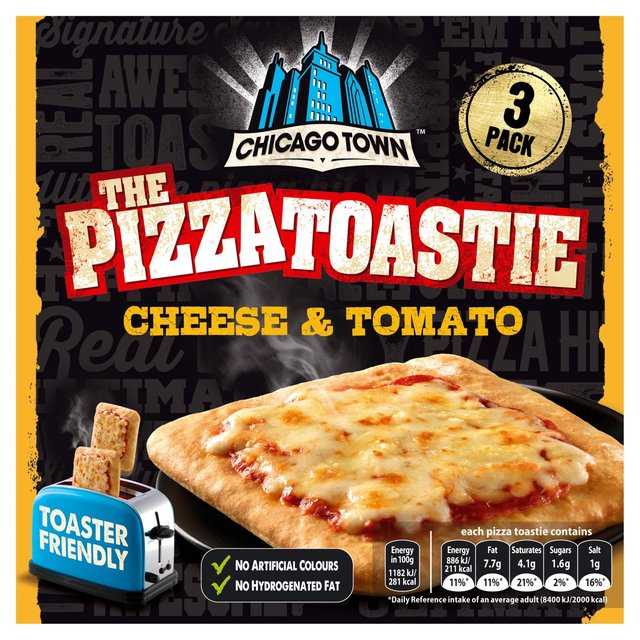 Morrisons Chicago Town 3 Cheese Tomato Pizza Toasties
