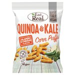 Eat Real Quinoa And Kale Puffs Jalap and Cheddar Flavour