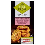 Morrisons Free From White Chocolate And Cranberry Cookies