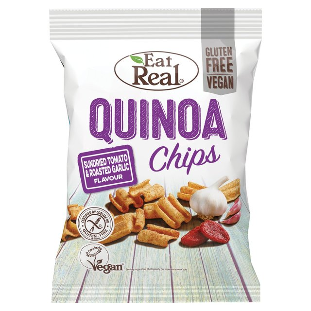 Eat Real Quinoa Chips Sundried Tomato And Garlic