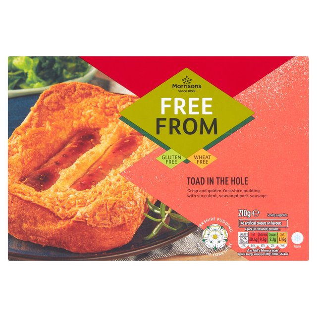 Morrisons Free From Toad In The Hole