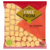 Morrisons Free From Mini Hash Browns