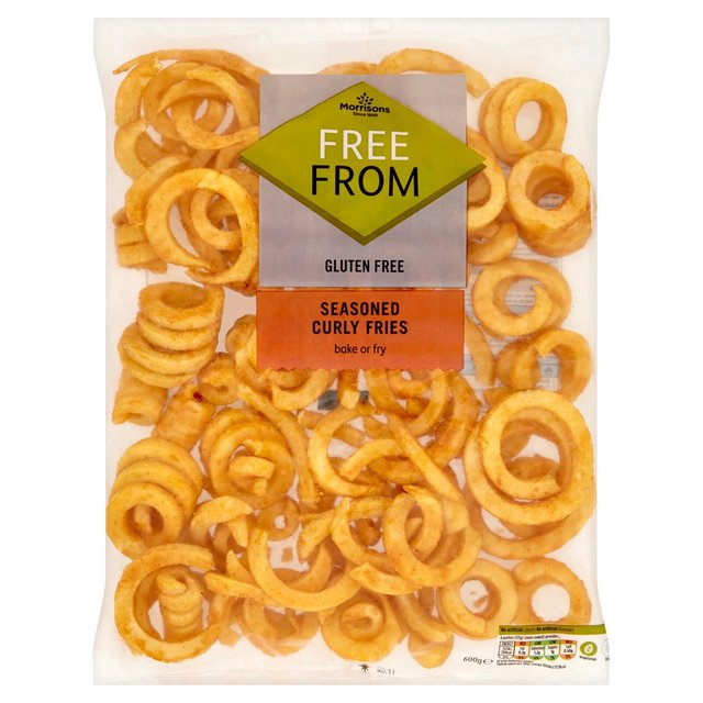 Morrisons Free From Seasoned Curly Fries