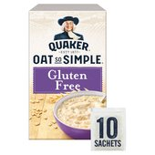 Quaker Oat So Simple Gluten Free Porridge