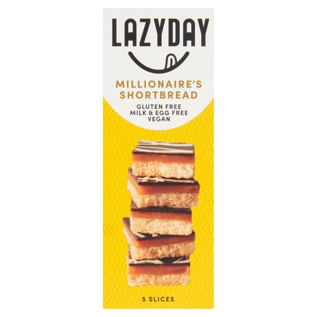 Lazy Day Foods Free From Millionaires Shortbread
