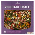 Morrisons Vegetable Balti Pizza