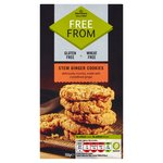Morrisons Free From Stem Ginger Cookies