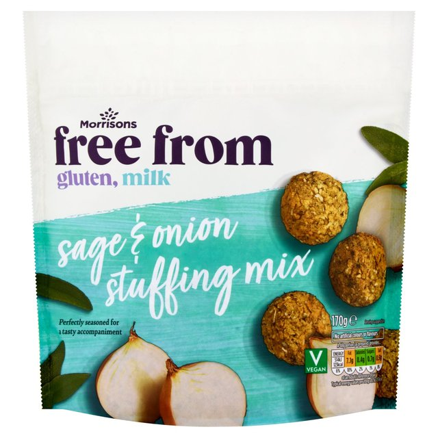 MORRISONS > Food Cupboard > Morrisons Free From Sage & Onion Stuffing Mix