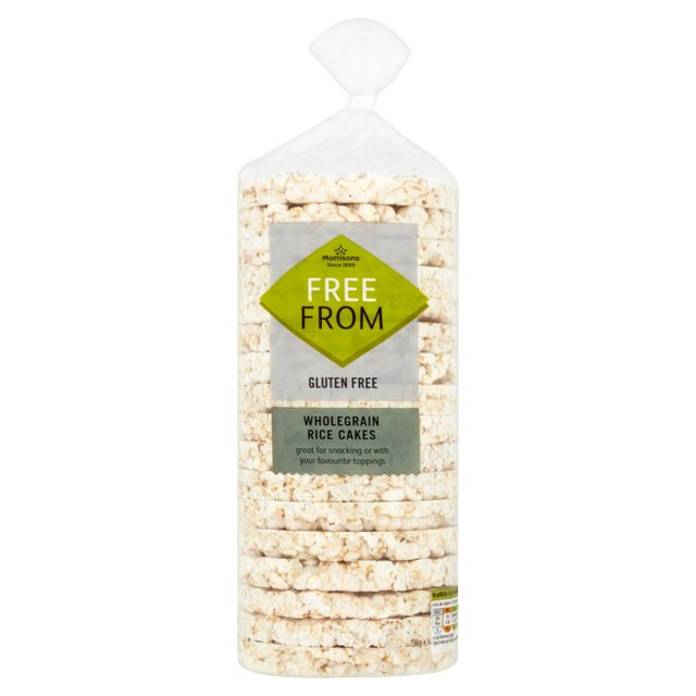 Morrisons Free From Wholegrain Rice Cakes