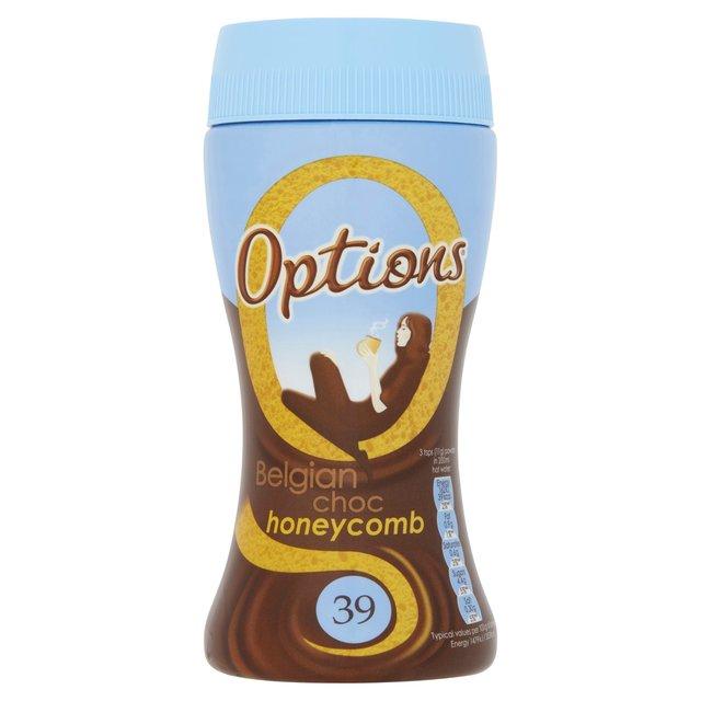 Options Belgian Chocolate Honeycomb