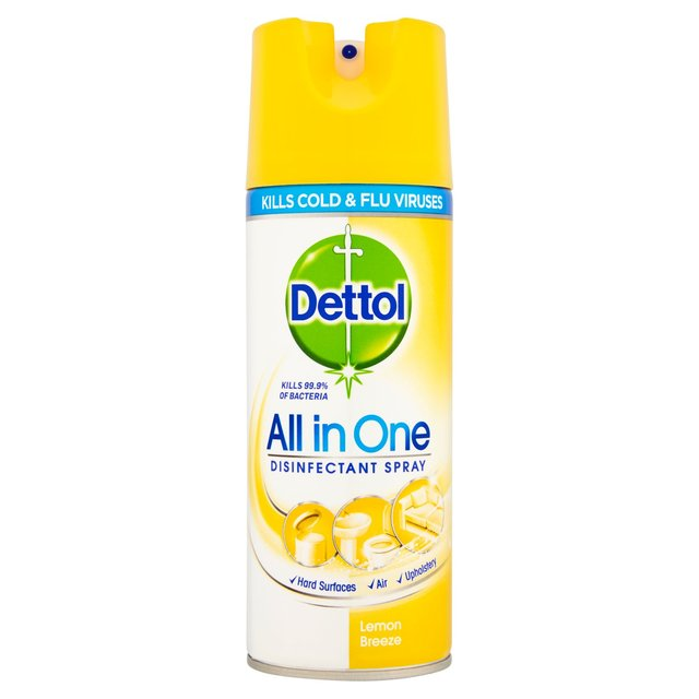 Dettol Disinfectant Spray Lemon