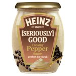 Heinz Seriously Good Creamy Pepper Sauce