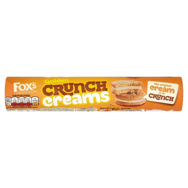Fox's Crunch Creams Golden