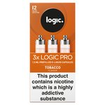 Logic Pro Capsules Tobacco Flavour 12Mg