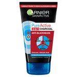 Garnier Pure Active Intensive Charcoal 3 In 1 Wash