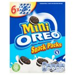 Oreo Sandwich Biscuits Mini Bags 6 Pack